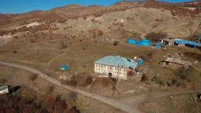 Dorp Turkije, klein dorp stock footage