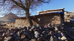 Dorp Turkije, klein dorp stock videobeelden