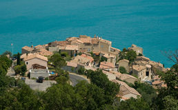 Dorp van de Provence Royalty-vrije Stock Foto's