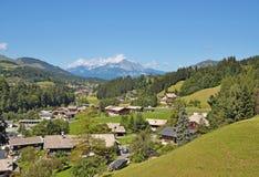 Fieberbrunn, Tirol, Oostenrijk Royalty-vrije Stock Foto