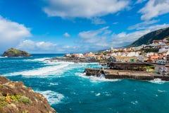 Dorp van Garachico Tenerife Royalty-vrije Stock Afbeeldingen