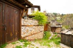 Dorp van Leshten, Bulgarije Royalty-vrije Stock Afbeeldingen