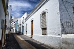 Dorp van Nijar, de provincie van Almeria, Andalusia, Spanje royalty-vrije stock afbeeldingen