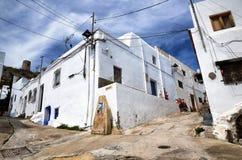 Dorp van Nijar, de provincie van Almeria, Andalusia, Spanje royalty-vrije stock foto's