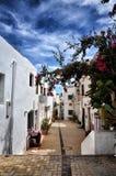 Dorp van Nijar, de provincie van Almeria, Andalusia, Spanje stock foto's