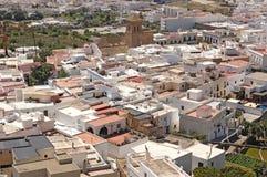 Dorp van Nijar, de provincie van Almeria, Andalusia, Spanje stock afbeeldingen