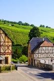 Dorp van Riquewihr, Frankrijk Royalty-vrije Stock Afbeelding