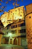Dorp van Rocamadour twee Stock Fotografie