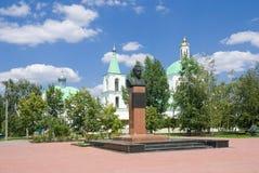 Dorp van Veshenskaya Royalty-vrije Stock Afbeeldingen