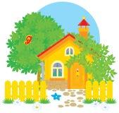 Dorpshuis stock illustratie