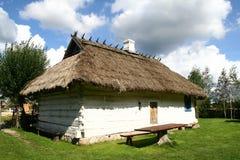 Dorpshuis in traditionele stijl Stock Foto's