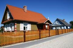 Dorpshuizen in traditionele stijl Royalty-vrije Stock Fotografie