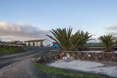 Dorpsscène - Fuerteventura Stock Fotografie