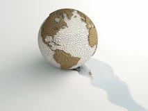 Dorre wereld Royalty-vrije Stock Fotografie