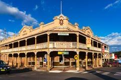 Dorrigo Hotelowy historyczny budynek Zdjęcie Royalty Free