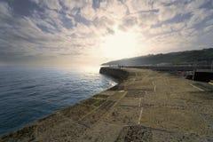 Dorset Αγγλία lyme REGIS Στοκ Φωτογραφία