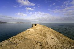 Dorset Αγγλία lyme REGIS Στοκ εικόνες με δικαίωμα ελεύθερης χρήσης