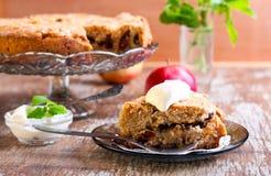 Dorset apple cake Royalty Free Stock Photo
