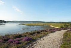 Dorset coastline stock photography
