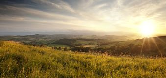 Dorset Countryside Royalty Free Stock Photography