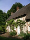 A Dorset, England cottage royalty free stock photography