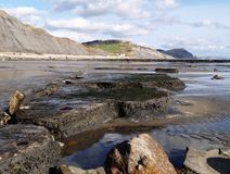 Dorset, English Jurassic Coast royalty free stock photo