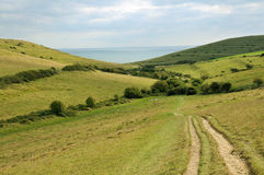 Dorset Hills Stock Photo