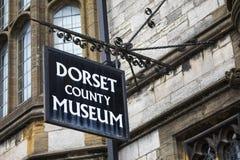 Dorset länmuseum Fotografering för Bildbyråer