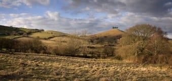 Dorset landskap royaltyfri foto