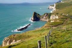 Dorset linia brzegowa Fotografia Royalty Free