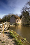 Dorset Mill. Sturminster Mill, Dorset, a 17th century watermill on the River Stour royalty free stock images
