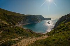 Dorset Regno Unito Fotografia Stock Libera da Diritti