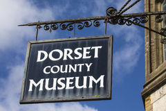 Dorset ståndsmässigt museum i Dorchester Royaltyfri Bild