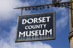 Dorset ståndsmässigt museum i Dorchester Royaltyfri Foto