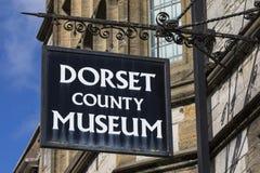 Dorset ståndsmässigt museum i Dorchester Royaltyfria Bilder
