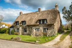 Dorset Thatched Cottage Royalty Free Stock Photo