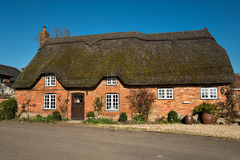Dorset Thatched Cottage Royalty Free Stock Image