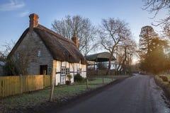 Dorsington, Warwickshire, Engeland Royalty-vrije Stock Fotografie