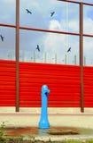 Dorstige vogels Stock Foto's