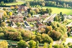 Dortmund Alemania desde arriba Fotos de archivo libres de regalías