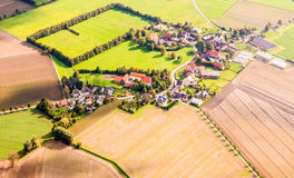 Dortmund, Allemagne d'en haut Images stock