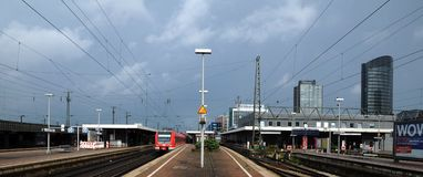 Dortmund - Central station Royalty Free Stock Photos