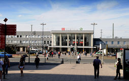 Dortmund - Central station Stock Image