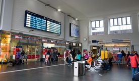 Dortmund Central station stock photos