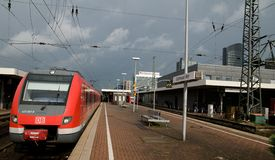 Dortmund - Deutsche Bahn Stock Photo