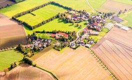 Dortmund, Duitsland van hierboven Stock Afbeeldingen