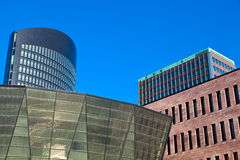 Dortmund, Germany. Modern architecture in downtown Dortmund, Germany Royalty Free Stock Photos