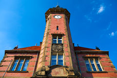 Dortmund, Germany. The old building of Dortmund Port Authority (Altes Hafenamt Royalty Free Stock Photography