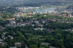 Dortmund. GERMANY - JULY 13: View from Florian Tower  July  13, 2014, in , Germany Royalty Free Stock Images