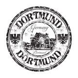 Dortmund grunge rubber stamp Royalty Free Stock Image